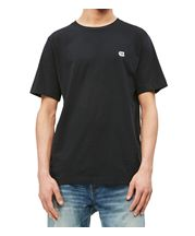 dfe52501 Calvin Klein Jeans Ck Badge Embroidery T-Shirt In Black