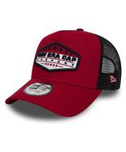 New Era Cap Patch Trucker In Red 585a5cb70409