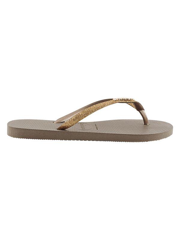 69cb5aa1a85e Havaianas Slim Glitter Flip Flops Womens