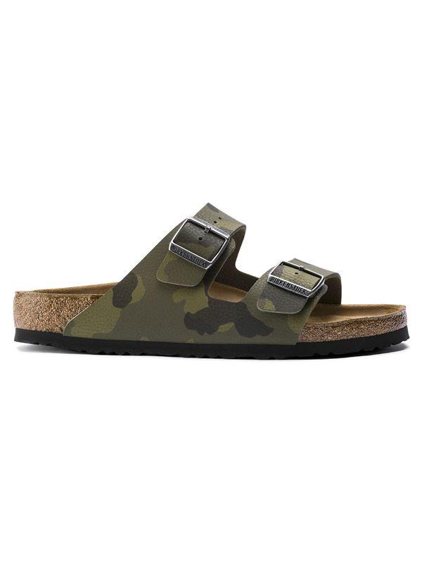 3c23bad36493 Birkenstock Arizona Soft Footbed Sandal In Desert Soil Camouflage Green |  Dapper Street