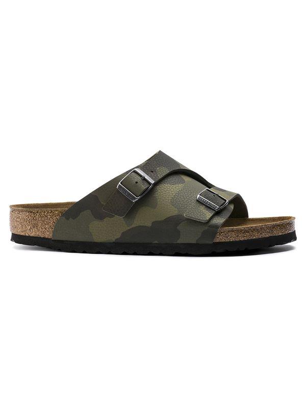 8ef6054bf3ac Birkenstock Zurich Soft Footbed Sandal In Desert Soil Camouflage Green