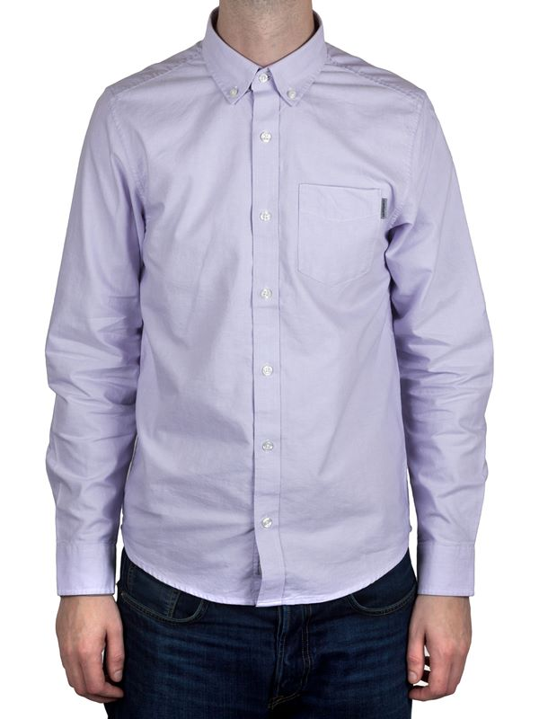 fe2f38effbe8 Carhartt WIP L/S Button Down Pocket Shirt In Soft Lavender | Dapper Street