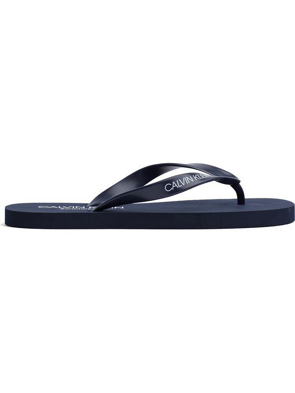 a4cd472f474b Calvin Klein Flip Flop Sandals In Blue Shadow