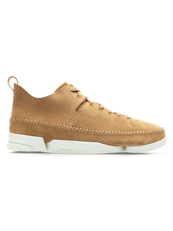 90e1c3701beb7 Clarks Originals Trigenic Flex In Light Tan | Dapper Street
