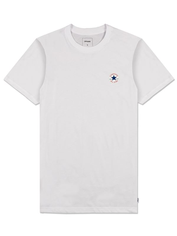Core Left Chest Cp Crew T-Shirt In White