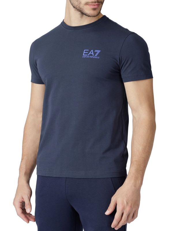 eda4d8b5f8 Train Logo Series Double Logo T-Shirt In Navy Blue