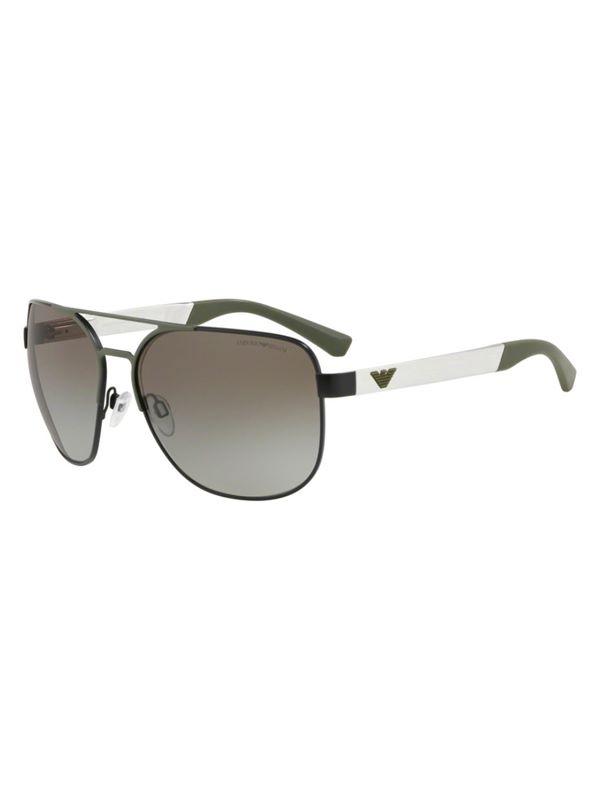 8920acbf3 Emporio Armani Sunglasses Aviator Style Sunglasses Matte Black ...