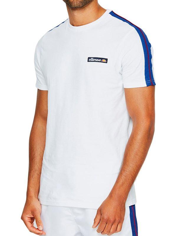 998aec41 Ellesse Pianto T-Shirt In White   Dapper Street