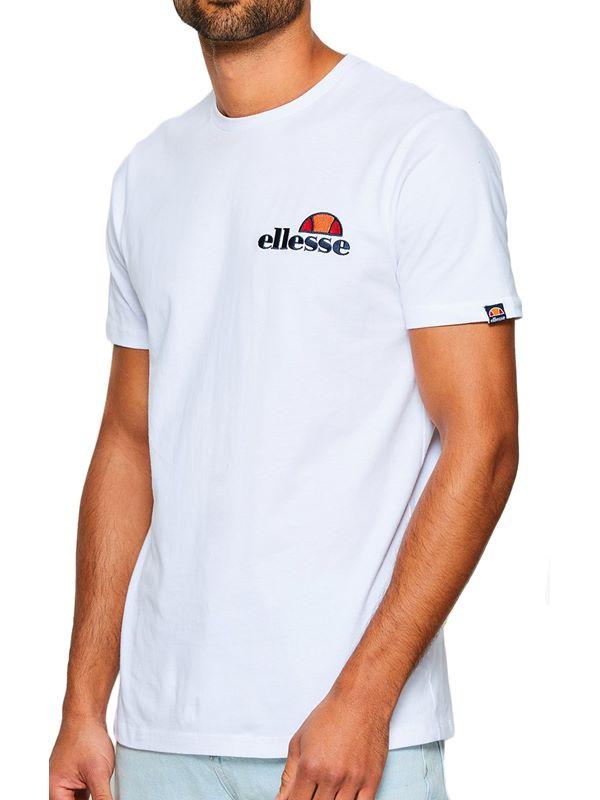 3b18e8fd Ellesse Voodoo Emb. T-Shirt In White   Dapper Street