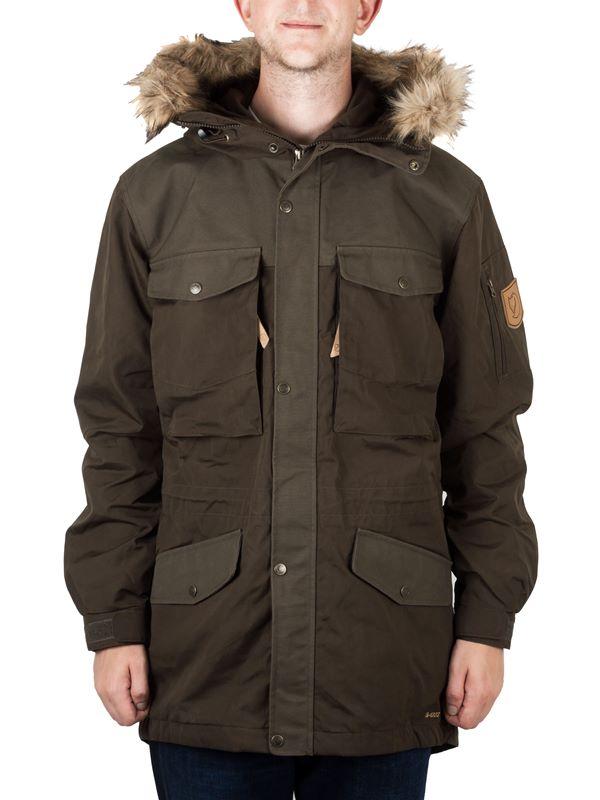 55882f4836c Fjallraven Singi Winter Jacket In Dark Olive