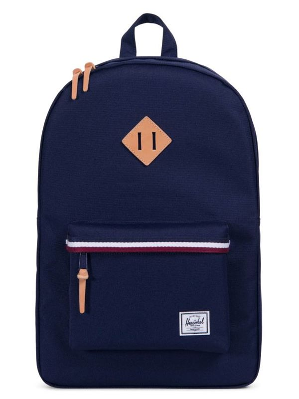 45dff814a4d Herschel Heritage Offset Backpack In Peacoat Windsor Wine White ...