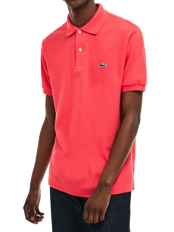 081ebdc2 Pique Polo Shirt Original Fit In Sirop Pink