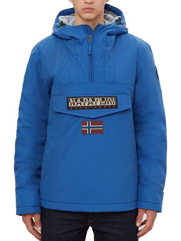 e6b67db57152d Napapijri Rainforest Winter Jacket In Bright Royal | Dapper Street