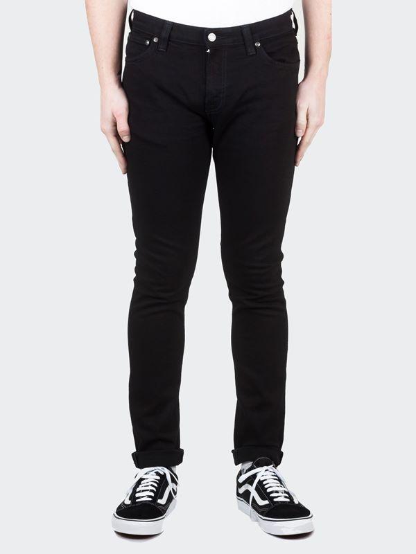 672d81eb9f47 Nudie Jeans Skinny Lin Jeans Black