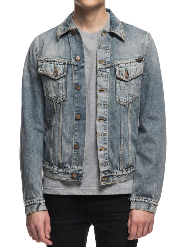 3d885ce731 Nudie Jeans Billy Denim Jacket In Shimmering Indigo