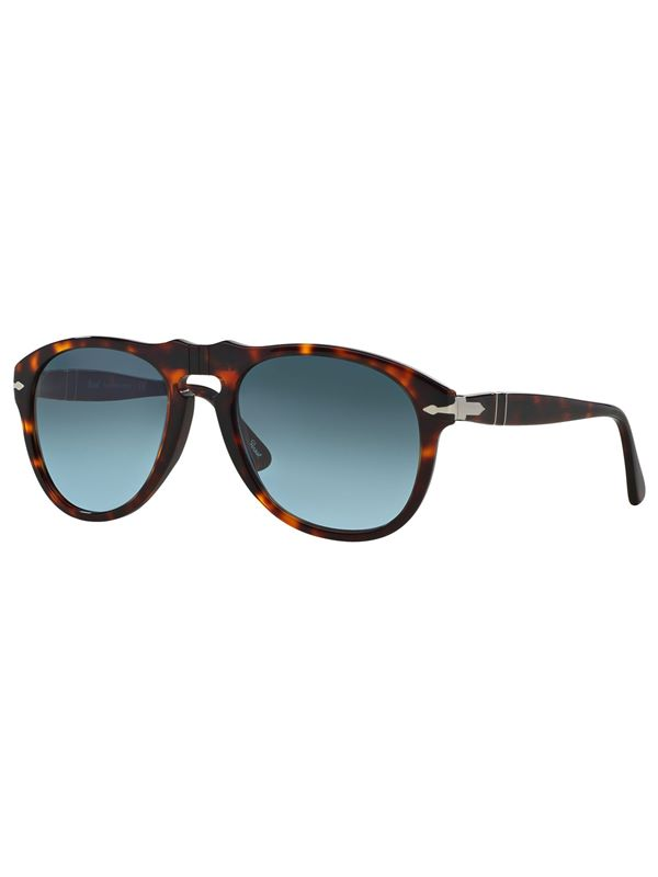 b1a0498efa Persol 649 Original Aviator Sunglasses In Havana Sky