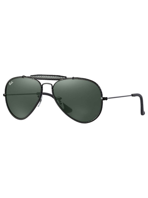 Lens Black With Green Craft In Aviator Leather n0mN8w