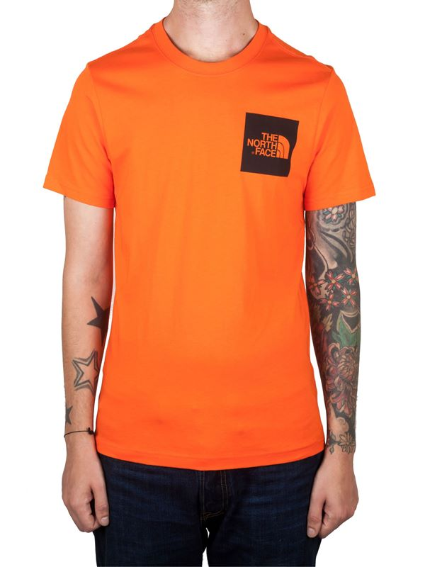 44f6a67a1 S/S Fine Tee Shirt In Persian Orange