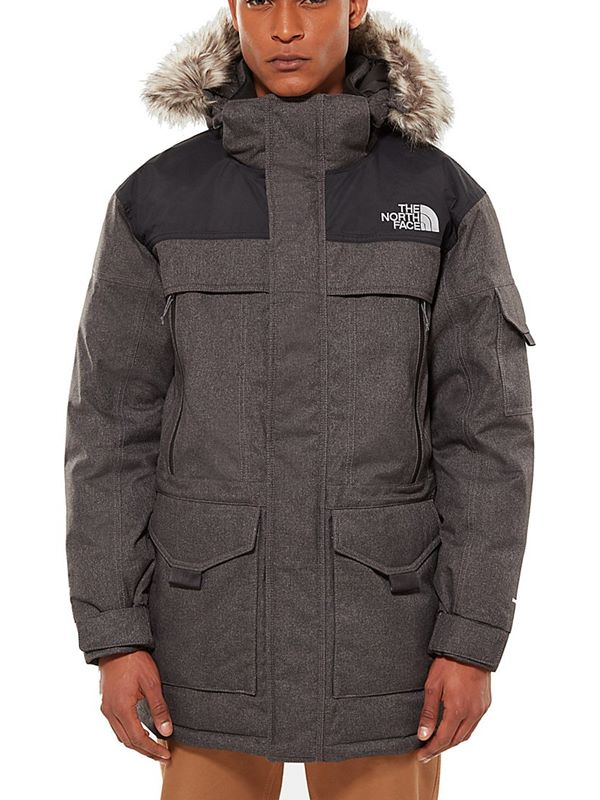 9154bb4ee8 The North Face Mc Murdo 2 Parka In Grey Heather
