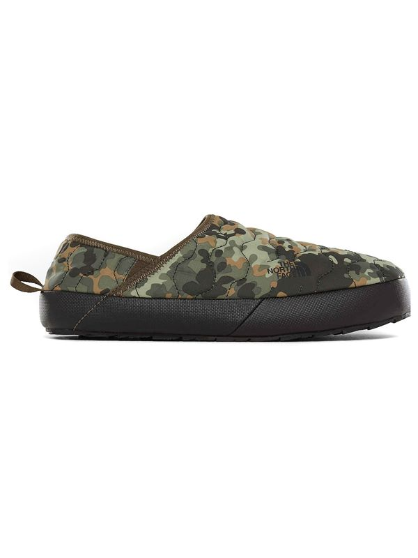 99ff4ba86f7 The North Face Mens Thermoball Traction Mule IV In Green Macrofleck ...