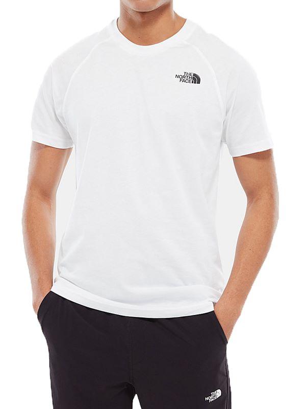 feecdc97d Raglan Simple Dome T-Shirt In White