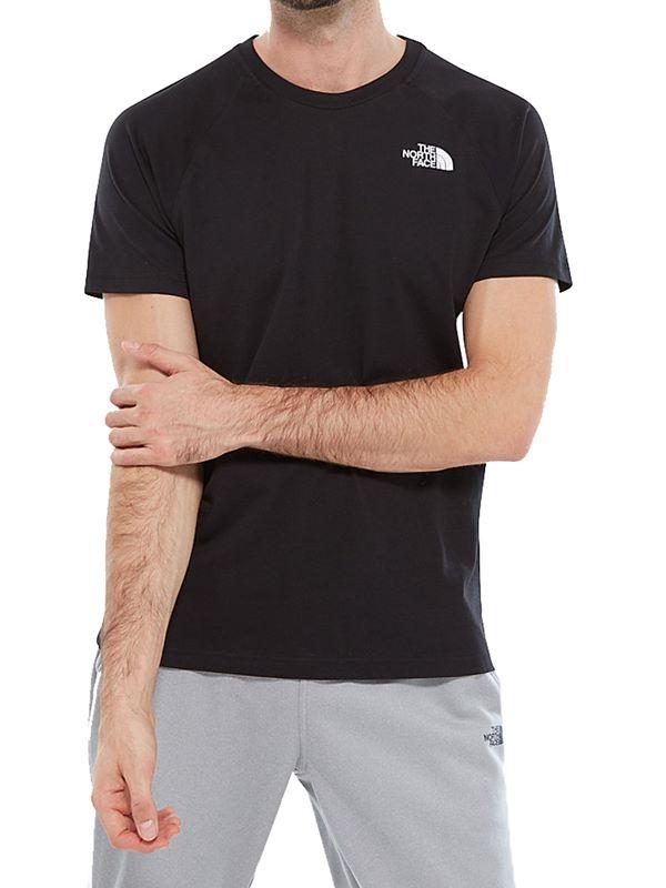 9476807ca Raglan Simple Dome T-Shirt In Black