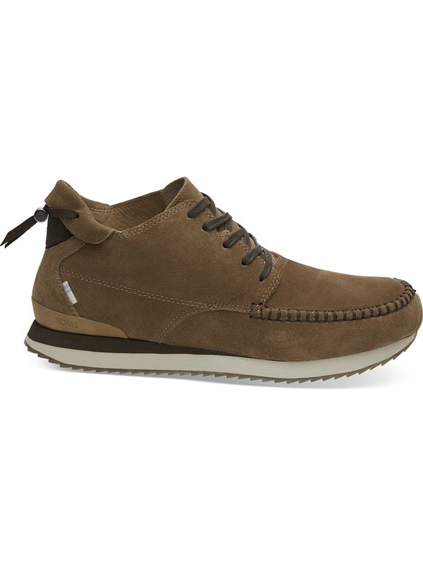 Toms Balboa Mid Trainer In Toffee