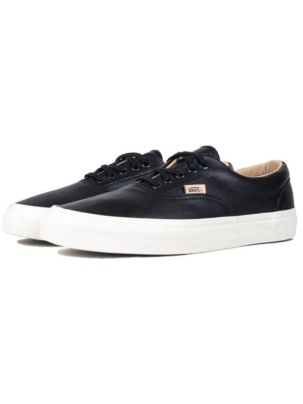 vans lux leather era shoes size9