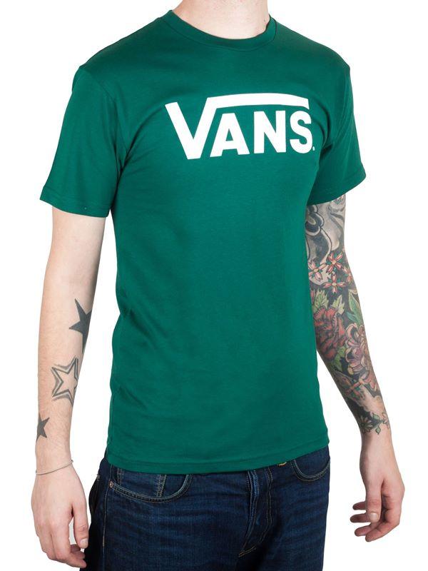 9b4dd9f1106057 VANS Vans Classic T-Shirt In Evergreen White