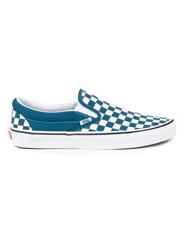 0b9ded7c5064 VANS Classic Slip-On In Checkerboard Corsair   True White