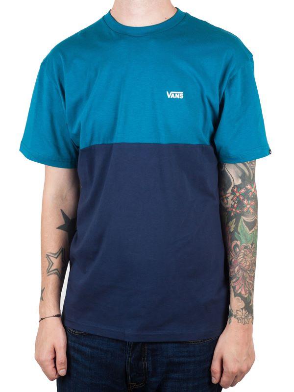 051b492046 VANS Colorblock T-Shirt In Corsair-Dress Blues