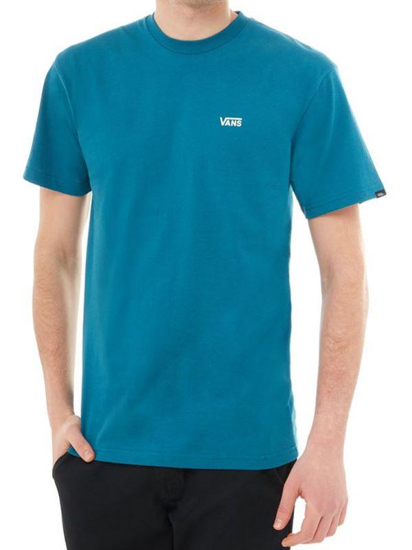 d54ee09b7e VANS Left Chest Logo T-Shirt In Corsair