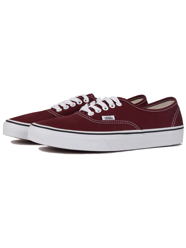 fe0b1bb8e42d VANS Authentic In Madder Brown   True White