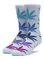 Melange Plantlife Socks In Light Blue